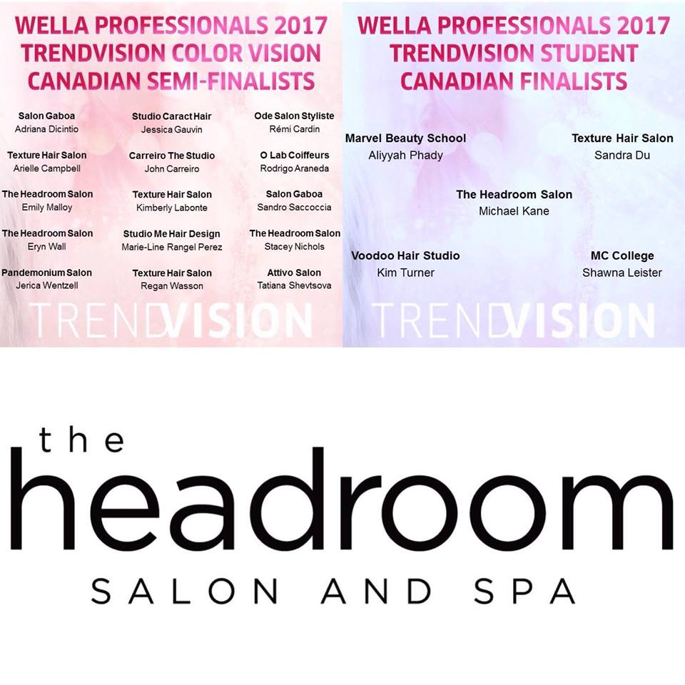 Wella TrendVision 2017 Announcement!