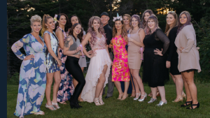 Eryns wedding group photo